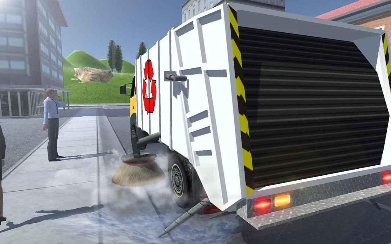 城市垃圾车模拟器破解版